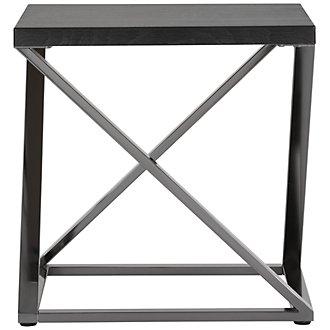Aegean Dark Tone Square End Table