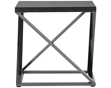 Aegean Dark Tone Square End Table