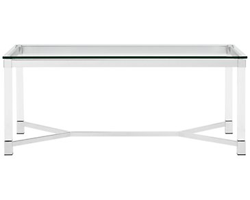 Talia Glass Rectangular Coffee Table