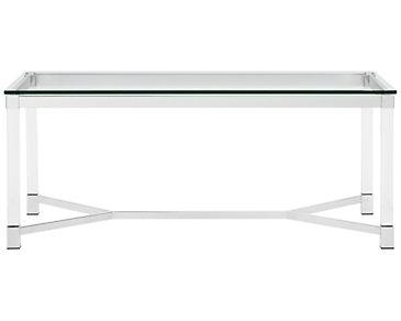 Talia Glass Rectangular Coffee Table