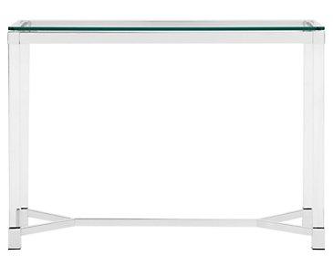 Talia Glass Sofa Table
