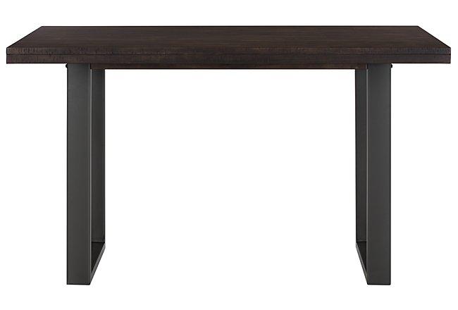 Sawyer Dark Tone Wood High Dining Table