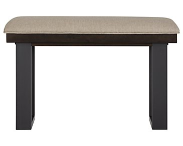 "Sawyer Dark Tone 24"" High Dining Bench"