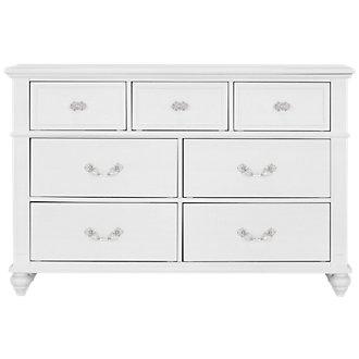 Alana White Dresser