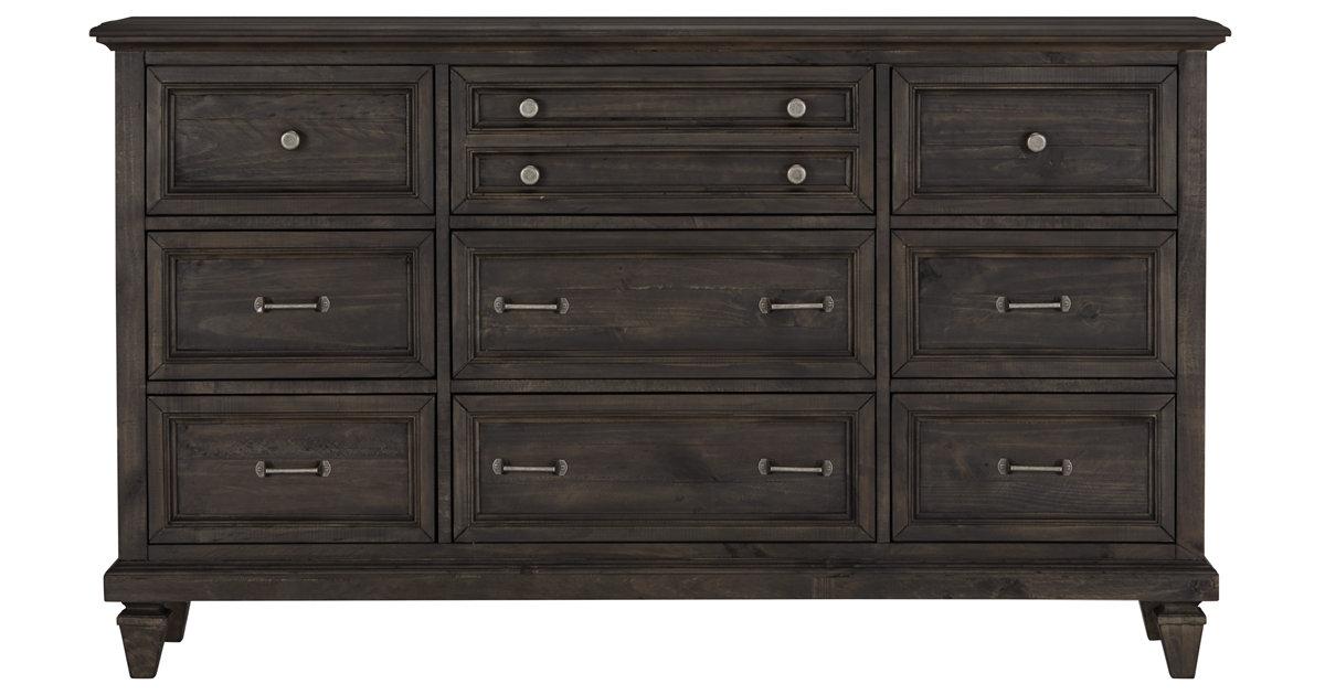 City Furniture Sonoma Dark Tone Dresser