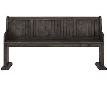 Sonoma Dark Tone Dining Bench