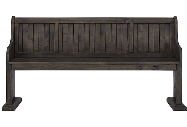 Sonoma Dark Tone Wood Dining Bench