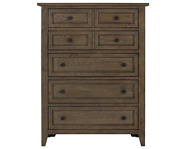 Dawson Light Tone Drawer Chest