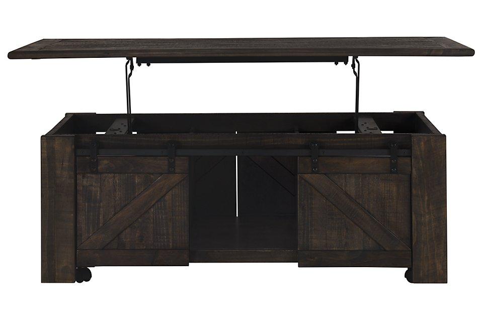 Strange Garrett Dark Tone Castored Lift Coffee Table Living Room Beatyapartments Chair Design Images Beatyapartmentscom