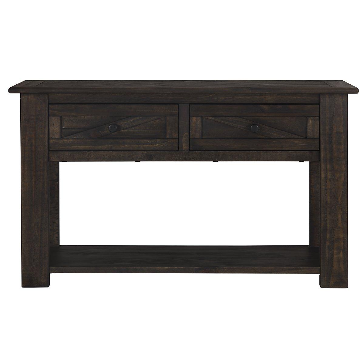 Cheap Dark Wood Sofa Table Okaycreationsnet