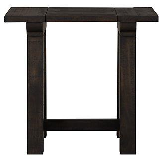 Bridgewater Black Rectangular End Table