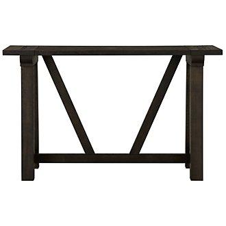 Bridgewater Black Sofa Table