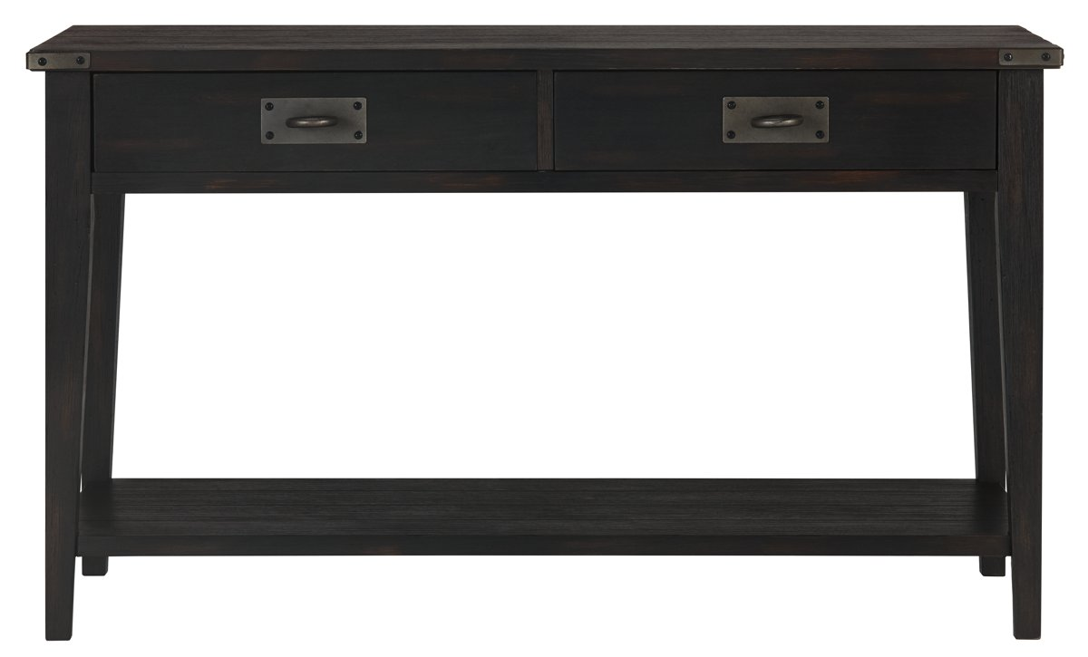 City Furniture Milford Black Sofa Table