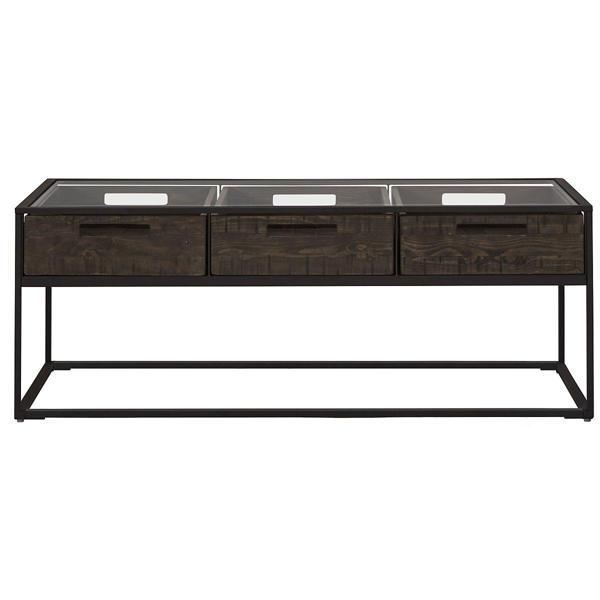 Claremont Dark Gray Rectangular Coffee Table