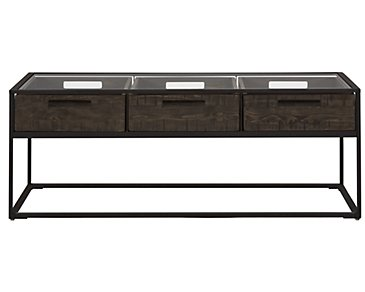 Claremont Dark Gray Rectangular Coffee Table
