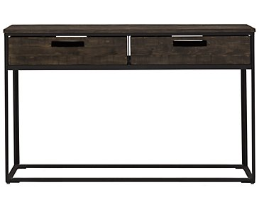 Claremont Dark Gray Sofa Table