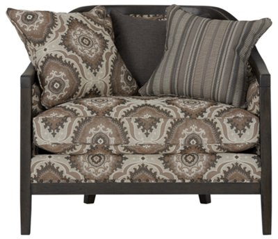 Colburn Multicolored Fabric Accent Chair