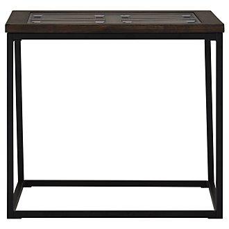 Rochester Dark Tone Rectangular End Table