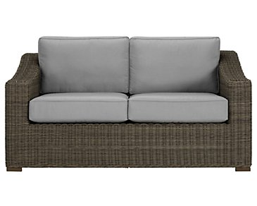 Canyon3 Gray Loveseat