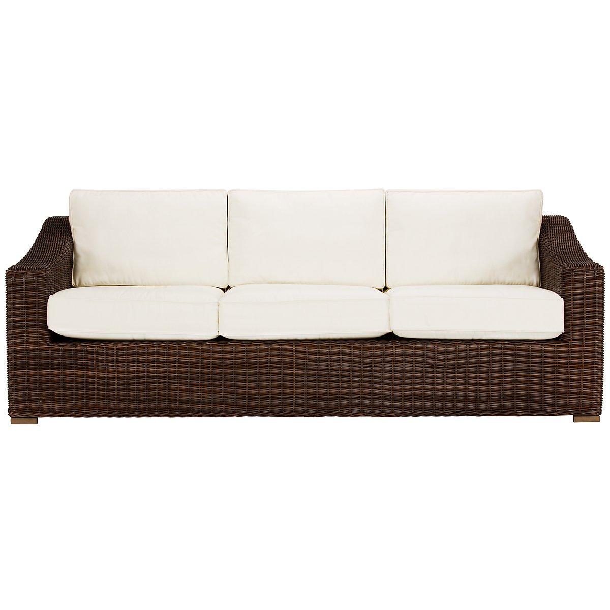 Canyon3 Dark Brown Sofa