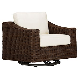 Canyon3 Dark Brown Swivel Chair