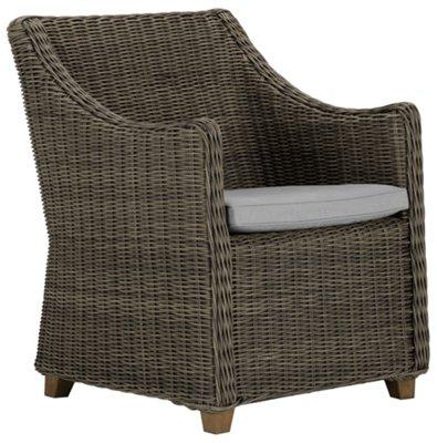 Canyon3 Gray Woven Arm Chair