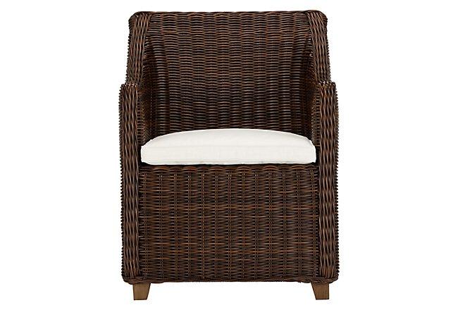 Canyon3 Dark Brown Woven Arm Chair