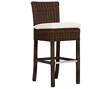 "Canyon3 Dark Brown Woven 30"" Barstool"