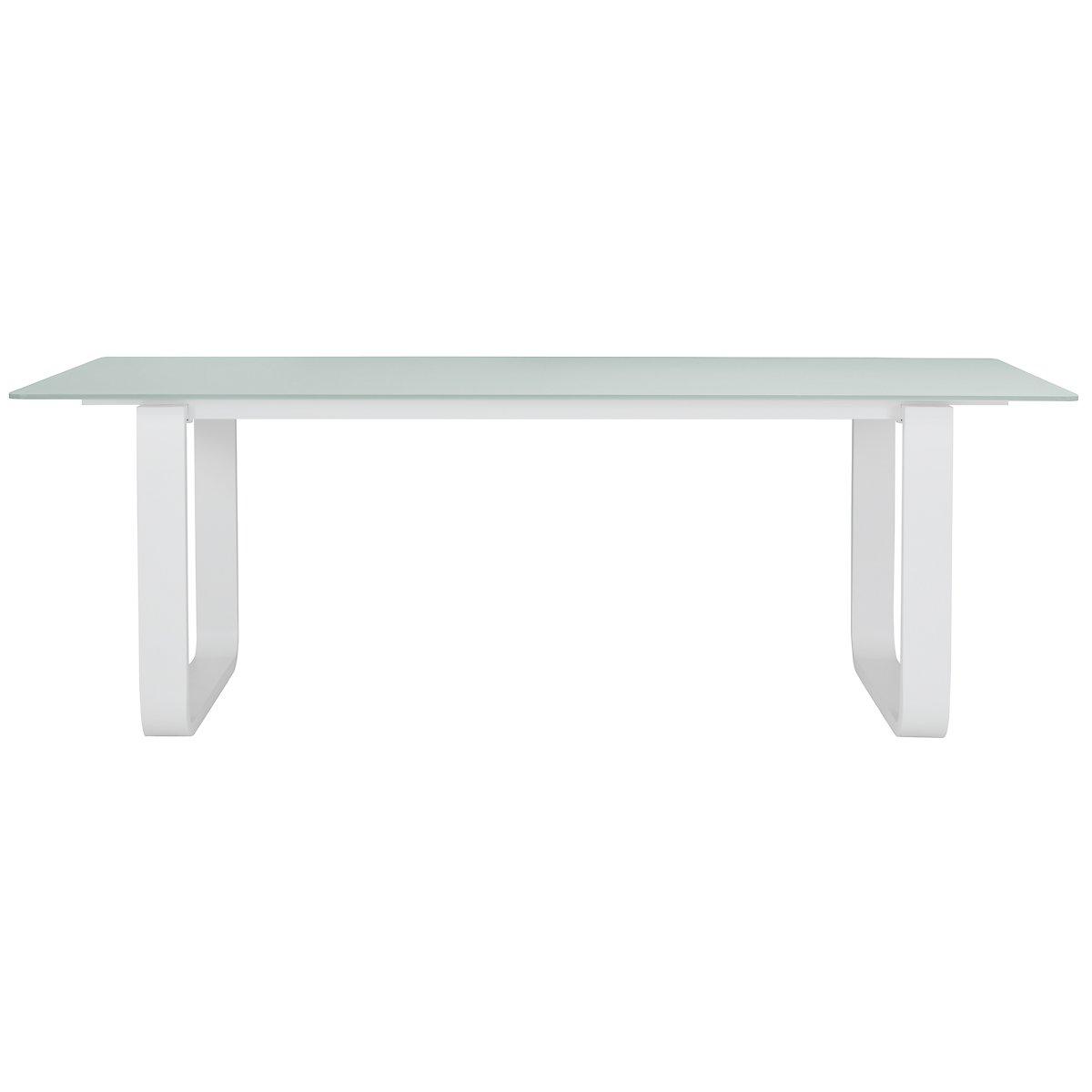 """Ibiza White 88"""" Rectangular Table"""