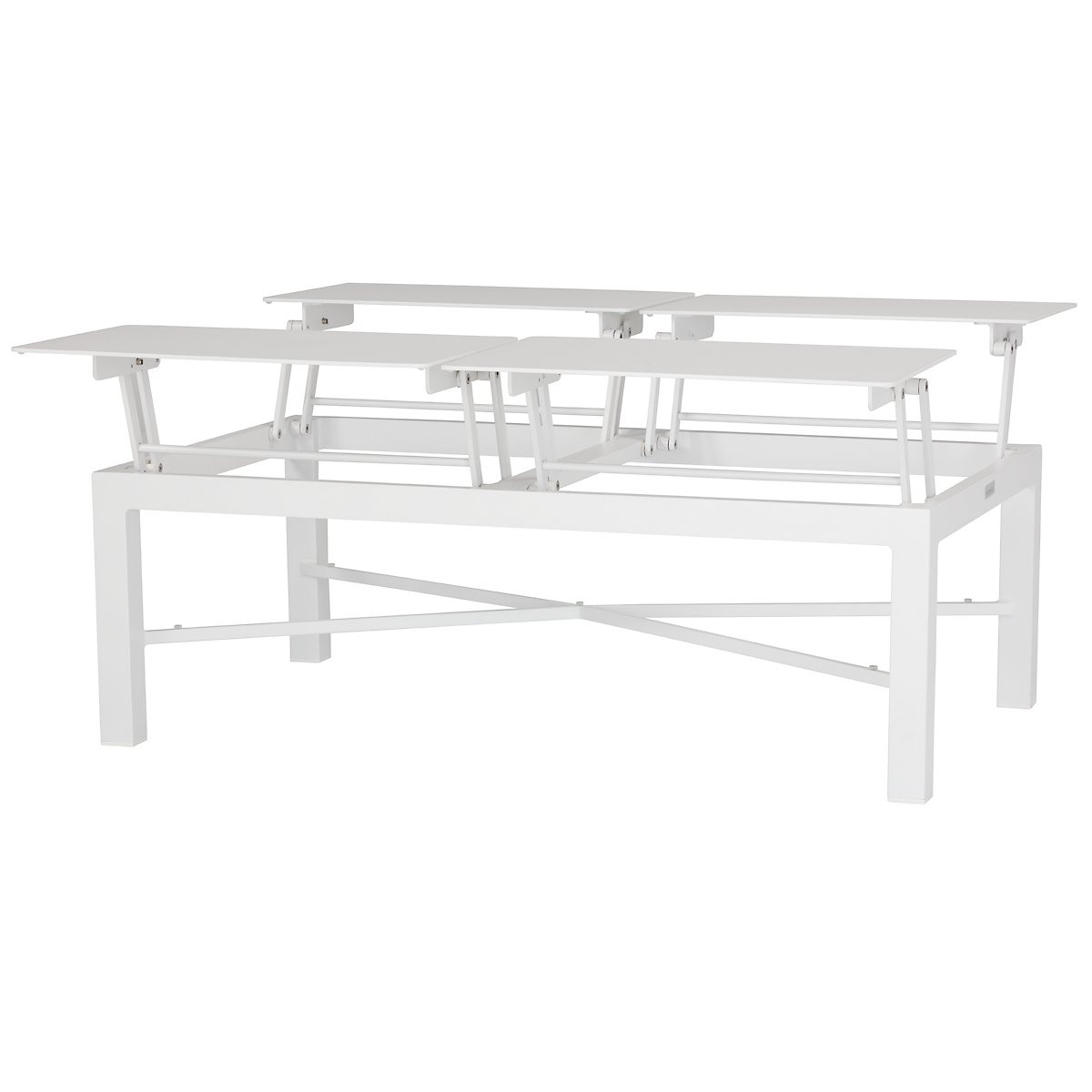 City Furniture Ibiza White Lift Top Coffee Table