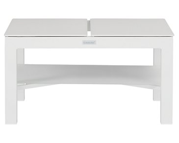 Ibiza White Lift-Top End Table