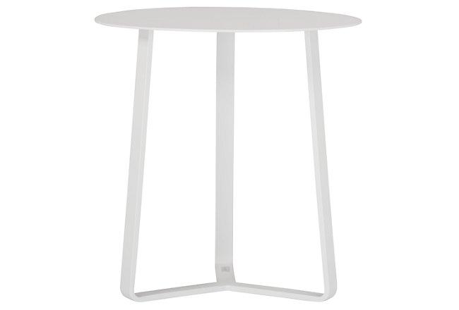 Ibiza White End Table