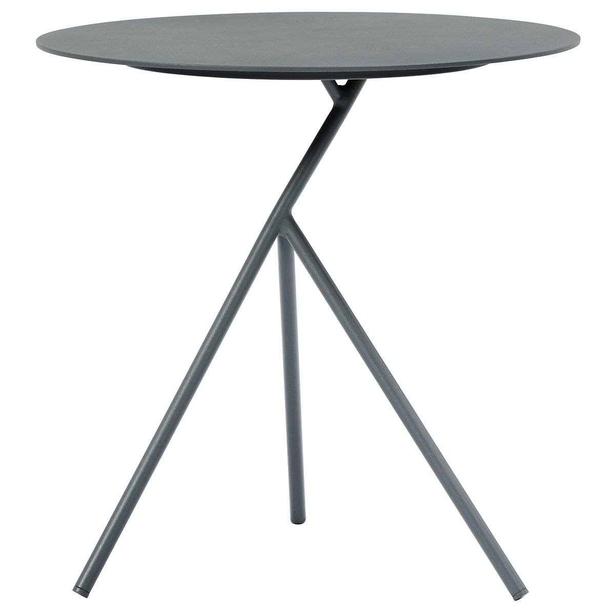 Ibiza Dark Gray High Accent Table