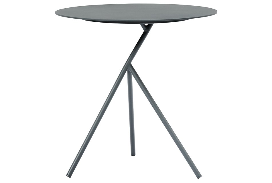 Ibiza Dark Gray  High Accent Table