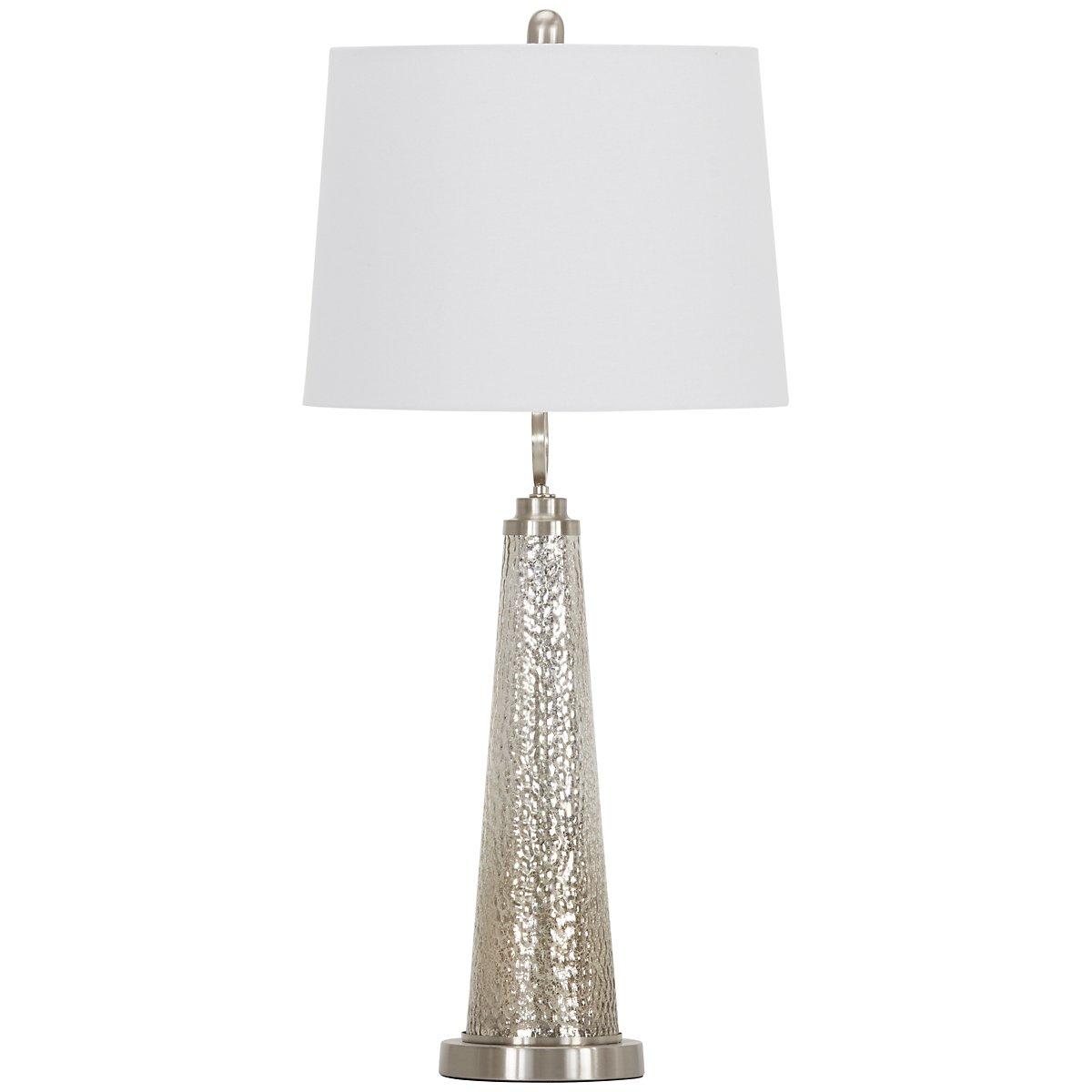 Arama Silver Table Lamp