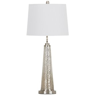 Arama Silver Table Lamp
