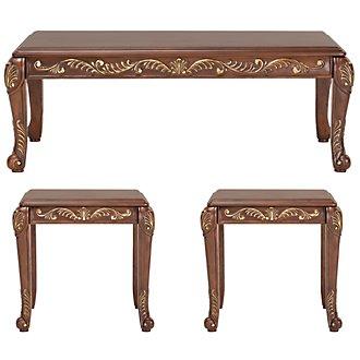 Florrilyn Dark Tone 3 Pack Tables