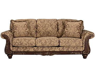 Irwindale Multicolored Fabric Sofa