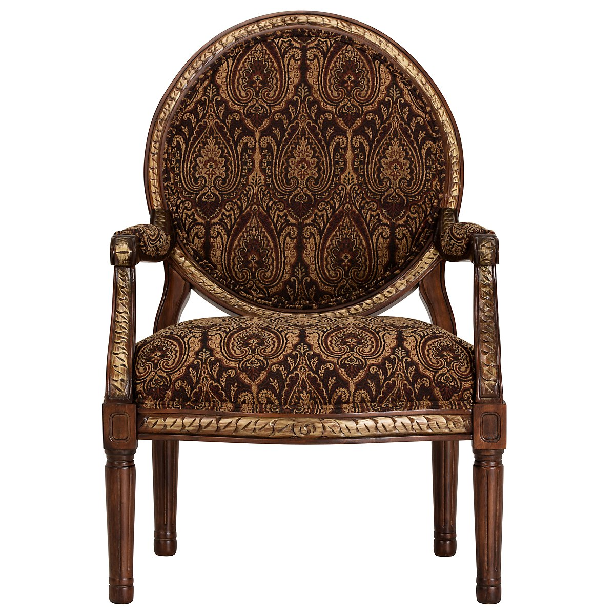 Irwindale Paisley Fabric Accent Chair - City Furniture: Irwindale Paisley Fabric Accent Chair
