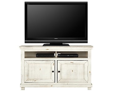 "Willow White 54"" TV Stand"