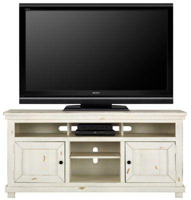 """Willow White 64"""" TV Stand"""