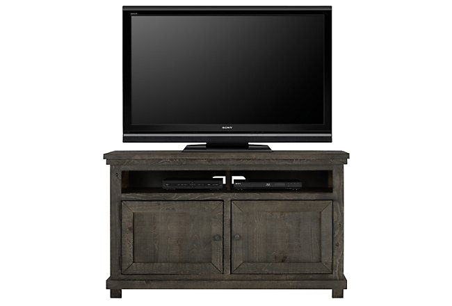 "Willow Gray 54"" TV Stand"