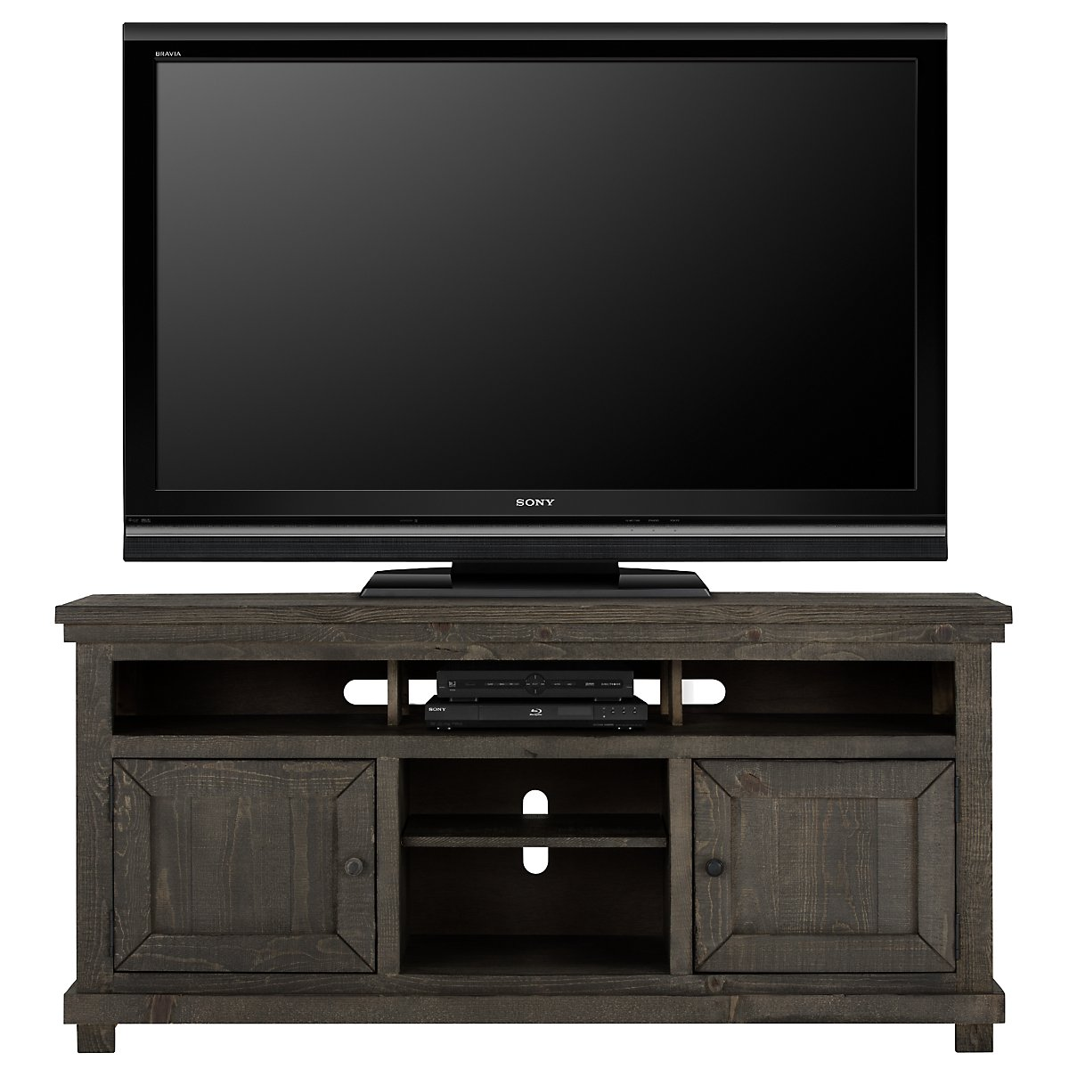"Willow Gray 64"" TV Stand"