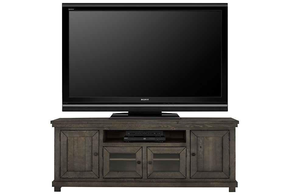 """Willow GRAY 74"""" TV Stand"""