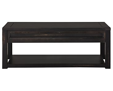 Cabo Dark Tone Rectangular Coffee Table