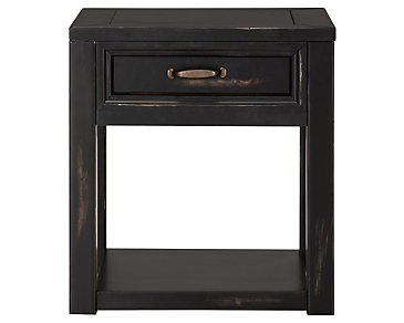 Cabo Dark Tone Square End Table