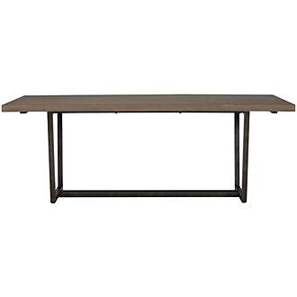 Alister Light Tone Rectangular Table