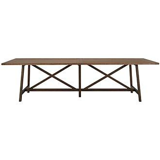 Camilla Light Tone Rectangular Table