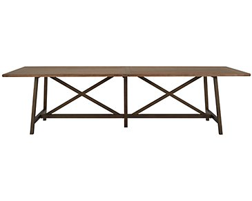 Camilla Light Tone Rectangular Table