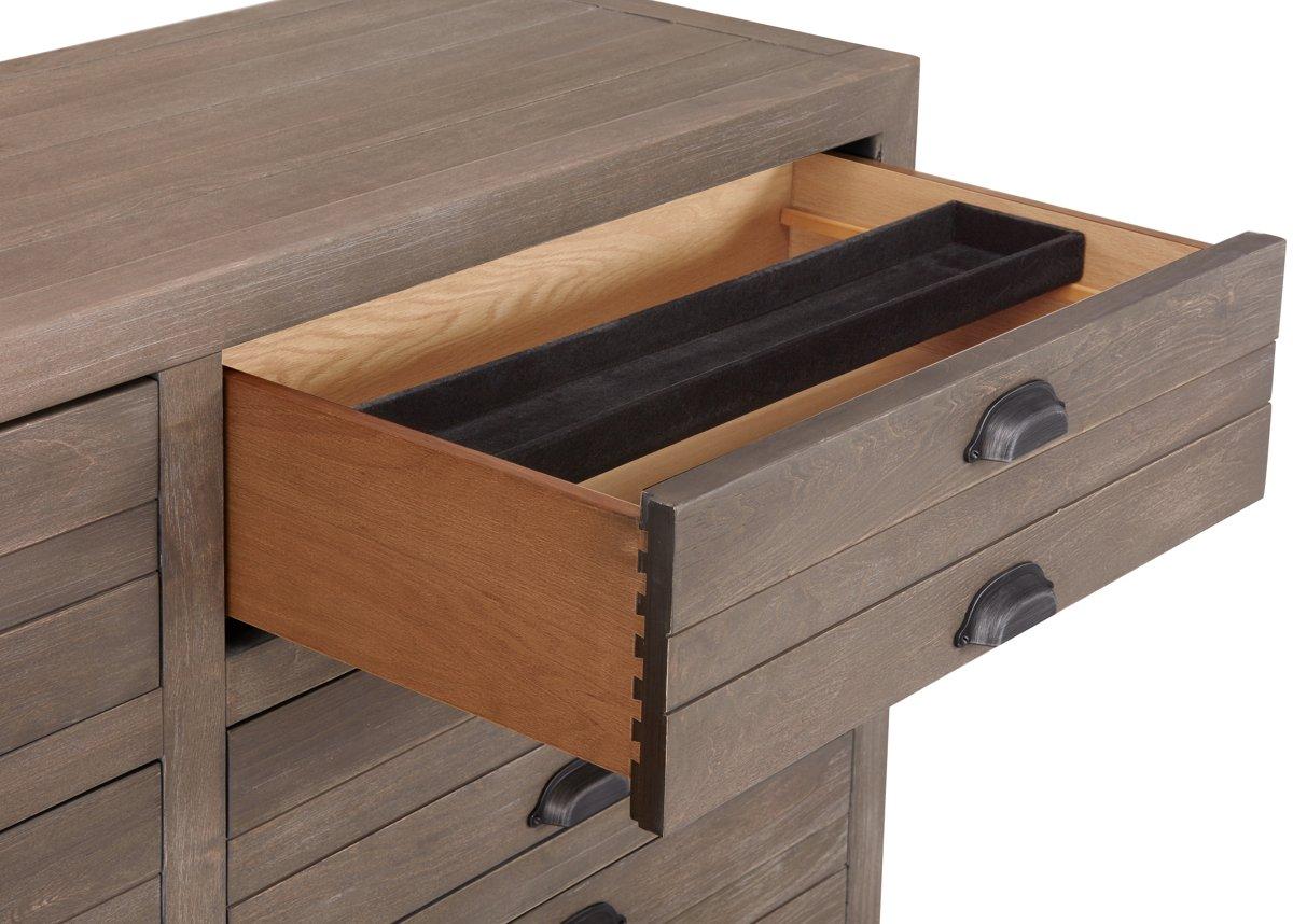 Gilmore Light Tone Wood Dresser